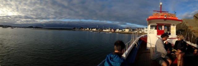 Balade en bateau - Finistère sud