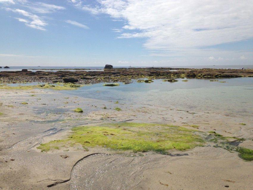 Plage de rochers - Finistère sud