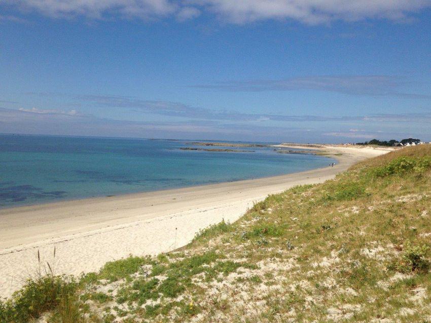Plage de sable blanc - Finistère sud