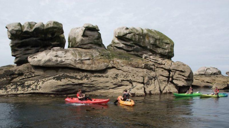 activité nautique en kayak au guilvinec en bretagne