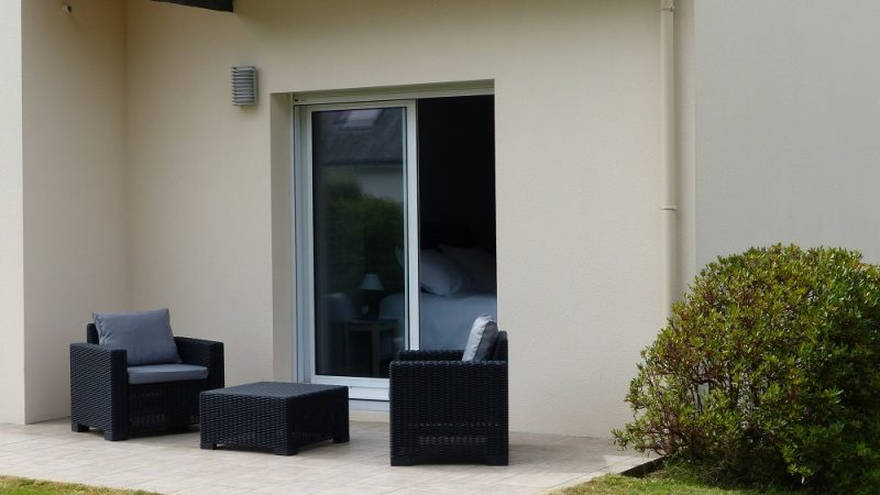 chambre d'hotes avec terrasse dans le finistere sud