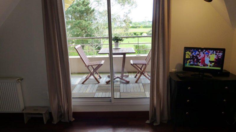 chambres d'hotes avec balcon dans le finistere sud en bretagne