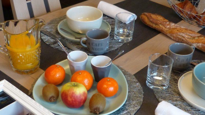 Petit dejeuner en chambre d hotes en Bretagne finistere