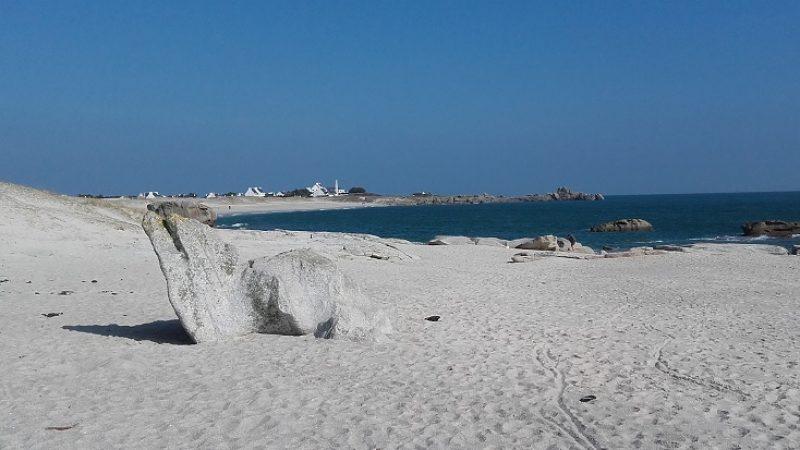 plages de kerseaux et goudoul dans le finistere en bretagne